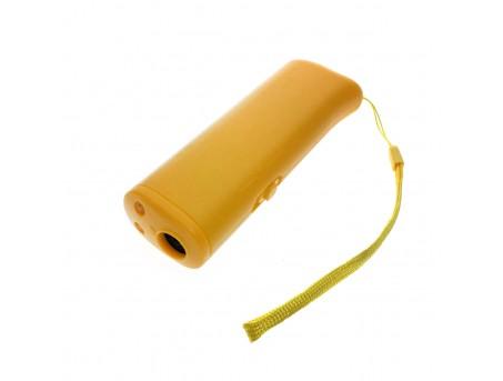 Ультразвуковой отпугиватель собак AD-100 желтый