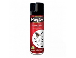 Средство от мух, комаров, муравьев, пауков и других насекомых Hunter аэрозоль