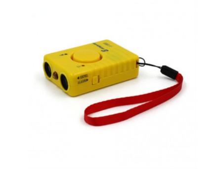 Мощный ультразвуковой отпугиватель собак J-1003 желтый