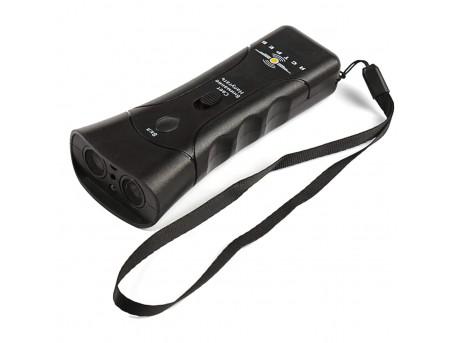 Мощный ультразвуковой отпугиватель собак Ястреб ОС-2 с лазерным прицелом