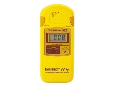 Дозиметр-радиометр бытовой ECOTEST МКС-05 Терра-П+