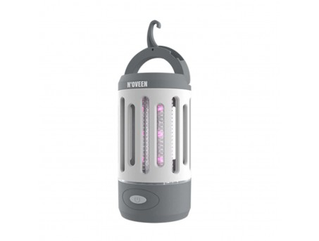 Антимоскитная лампа от комаров мух насекомых светодиодная на аккумуляторе Noveen IKN851 LED