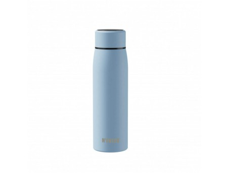 Умная термобутылка из нержавеющей стали с дисплеем Noveen TB2217 Smart голубая