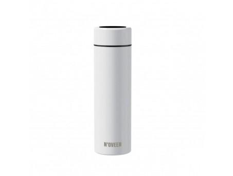 Умная термобутылка из нержавеющей стали с дисплеем Noveen TB2311 Smart белая