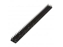 Антиприсадные шипы от птиц пластиковые черные (0,5 м)