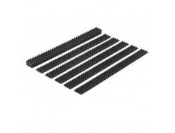 Пластиковые шипы от птиц комплект черные (набор 10 шт - 5 м.)