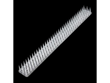 Антиприсадные шипы от птиц пластиковые прозрачные (0,5 м)