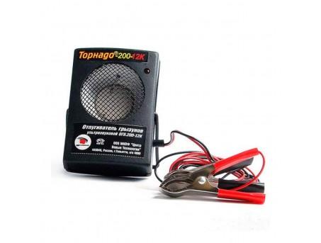 Отпугиватель крыс и мышей для автомобиля Торнадо 200-12к