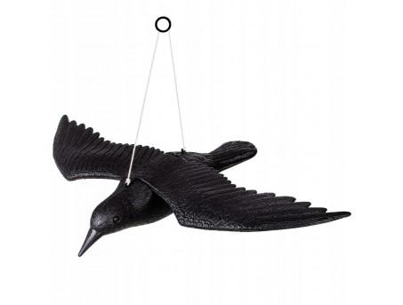 Летящий ворон для отпугивания птиц с крыльями