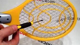 Обзор электрической мухобойки